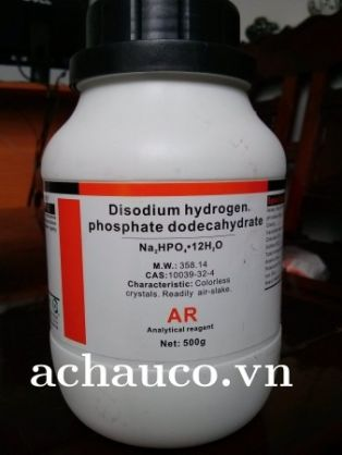 DISODIUM HYDROGEN PHOSPHATE DODECAHYDRATE